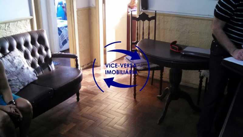sala - Apartamento À venda no Rocha - 2 quartos, condomínio barato, a 5 minutos da Rua Ana Néri! - 1250 - 7