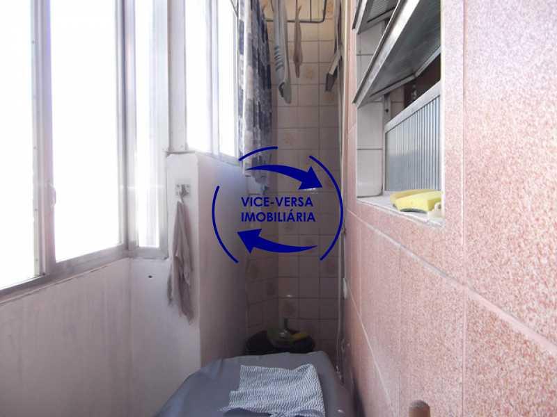 area-de-servico - Apartamento À venda no Rocha - 2 quartos, condomínio barato, a 5 minutos da Rua Ana Néri! - 1250 - 24