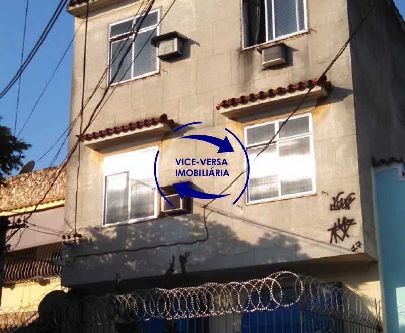 fachada - Apartamento À venda no Rocha - Sala, 2 quartos, condomínio barato, a 5 minutos da Rua Ana Néri! - 1251 - 1