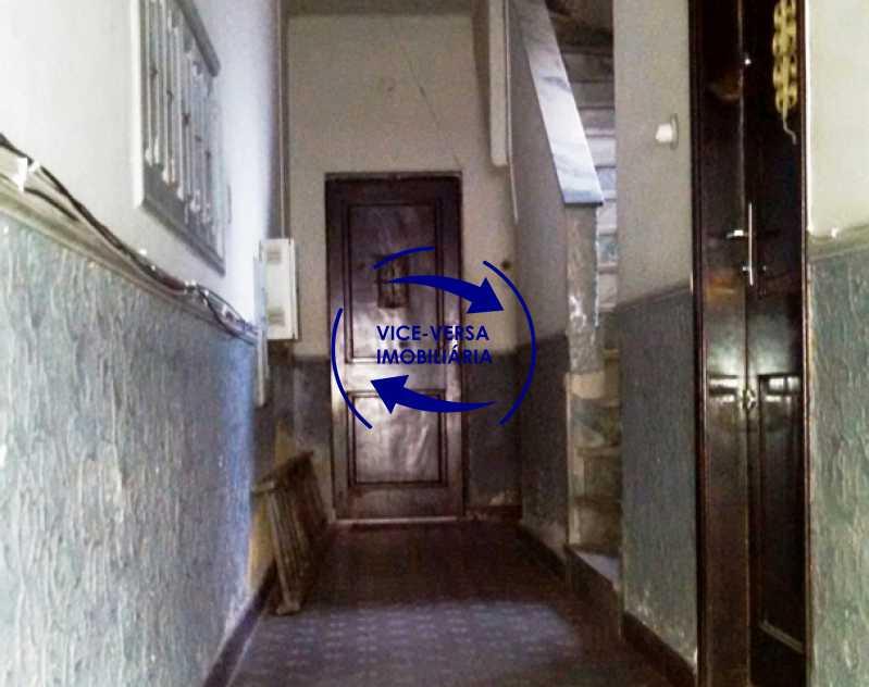 acesso-ao-apartamento - Apartamento À venda no Rocha - Sala, 2 quartos, condomínio barato, a 5 minutos da Rua Ana Néri! - 1251 - 5