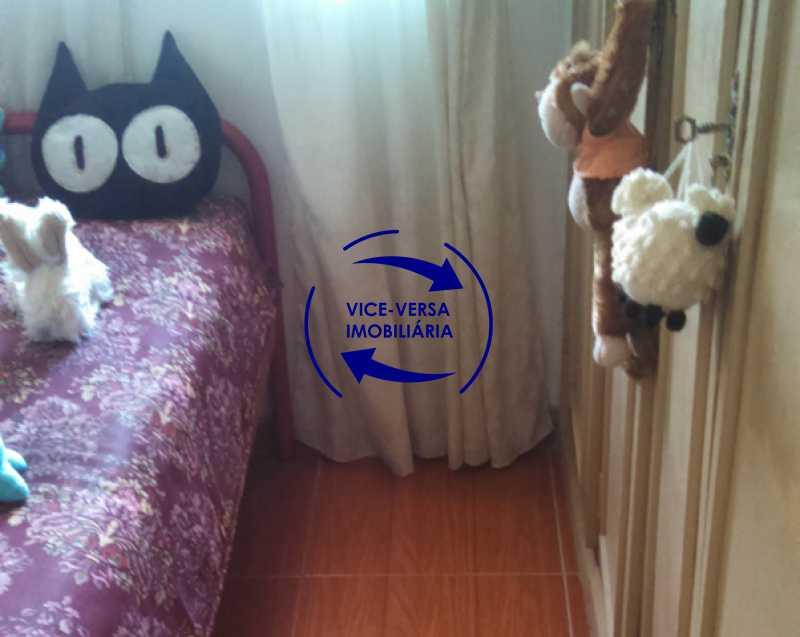 segundo-quarto - Apartamento À venda no Rocha - Sala, 2 quartos, condomínio barato, a 5 minutos da Rua Ana Néri! - 1251 - 16