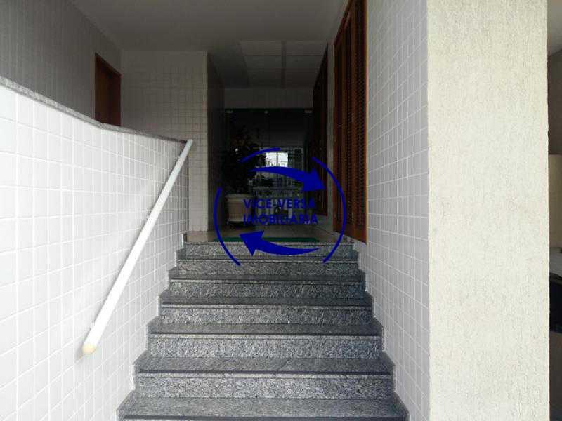 acesso-portaria - Apartamento À venda em Todos os Santos - sala, 2 quartos, área de serviço, vaga! - 1057-5 - 5