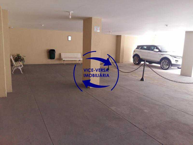 fundos-garagem-play - Apartamento À venda em Todos os Santos - sala, 2 quartos, área de serviço, vaga! - 1057-5 - 7