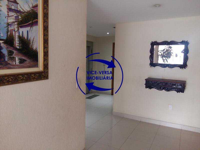 portaria - Apartamento À venda em Todos os Santos - sala, 2 quartos, área de serviço, vaga! - 1057-5 - 10