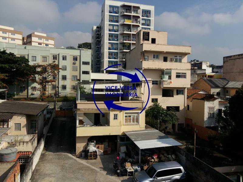 vista-da-sala - Apartamento À venda em Todos os Santos - sala, 2 quartos, área de serviço, vaga! - 1057-5 - 15