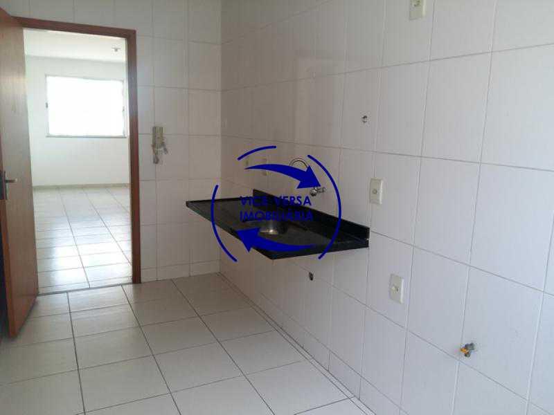 cozinha - Apartamento À venda em Todos os Santos - sala, 2 quartos, área de serviço, vaga! - 1057-5 - 21