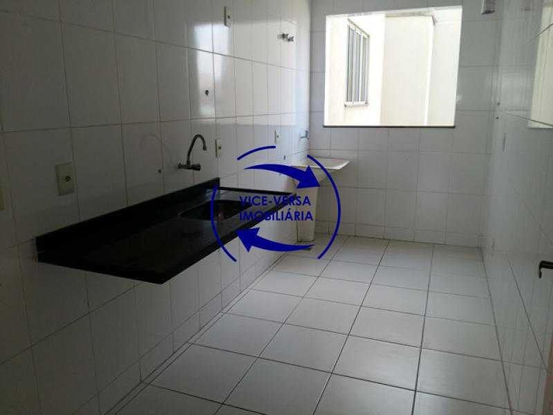 cozinha-area-de-servico - Apartamento À venda em Todos os Santos - sala, 2 quartos, área de serviço, vaga! - 1057-5 - 22