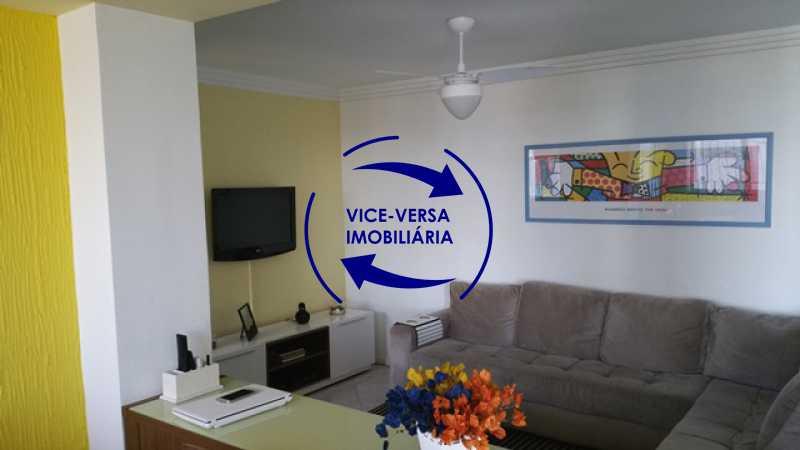 sala-de-estar - Cobertura duplex À venda na Barra da Tijuca, Condomínio Mandala - 3 quartos, suíte, dependências e 2 vagas! - Z1205 - 1