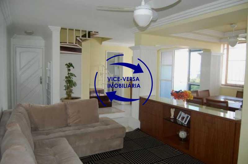 sala-de-estar - Cobertura duplex À venda na Barra da Tijuca, Condomínio Mandala - 3 quartos, suíte, dependências e 2 vagas! - Z1205 - 8
