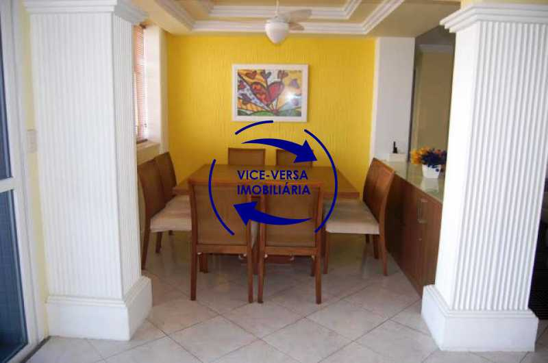 sala-de-jantar - Cobertura duplex À venda na Barra da Tijuca, Condomínio Mandala - 3 quartos, suíte, dependências e 2 vagas! - Z1205 - 9