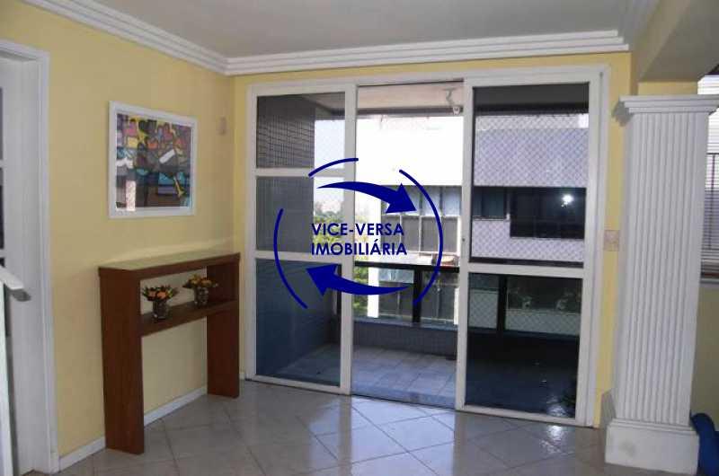 acesso-varanda - Cobertura duplex À venda na Barra da Tijuca, Condomínio Mandala - 3 quartos, suíte, dependências e 2 vagas! - Z1205 - 10