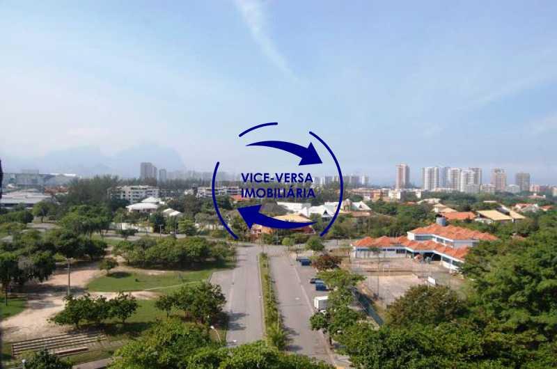 vista-da-varanda - Cobertura duplex À venda na Barra da Tijuca, Condomínio Mandala - 3 quartos, suíte, dependências e 2 vagas! - Z1205 - 11