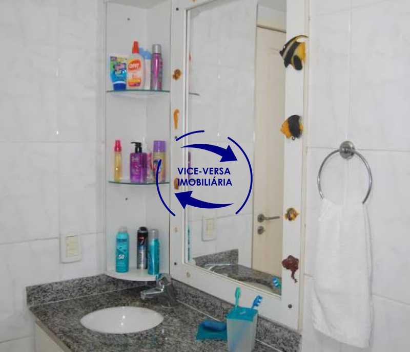 banheiro_social - Cobertura duplex À venda na Barra da Tijuca, Condomínio Mandala - 3 quartos, suíte, dependências e 2 vagas! - Z1205 - 22