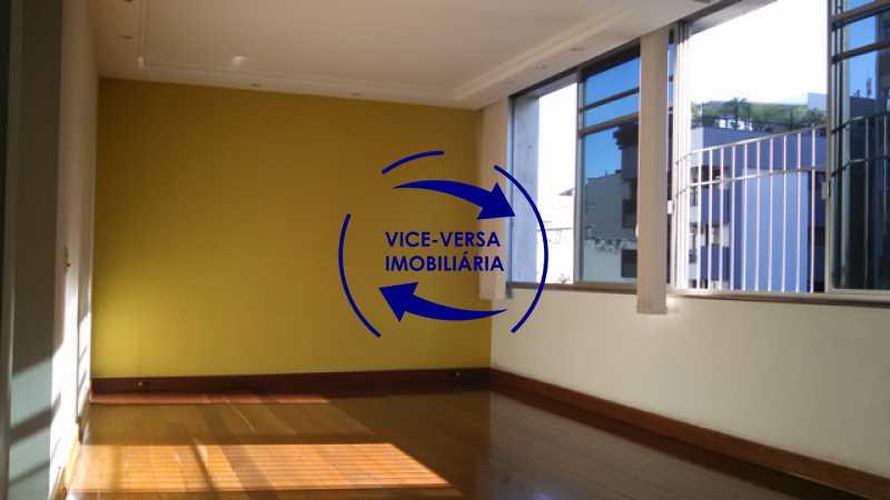salao - Apartamento À venda na Tijuca - junto metrô Uruguai, salão, 4 quartos, suíte, dependências completas, 2 vagas! - Z1209 - 5