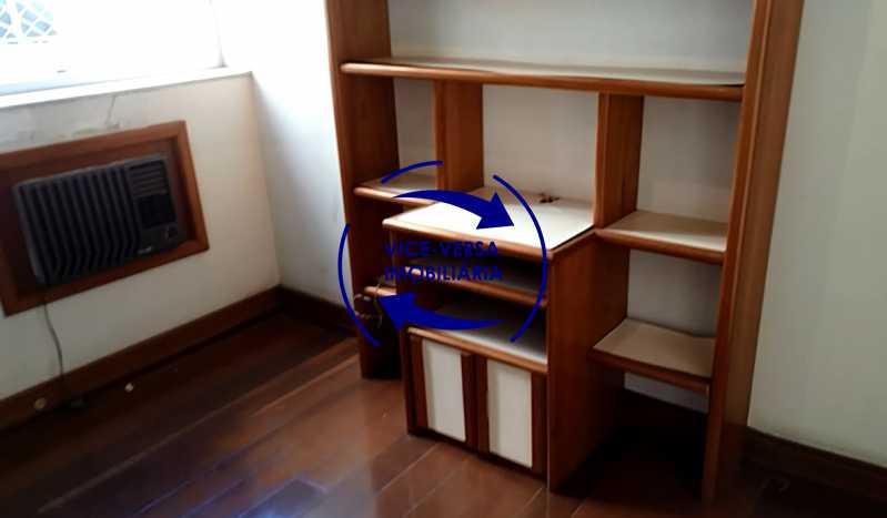 segundo-quarto - Apartamento À venda na Tijuca - junto metrô Uruguai, salão, 4 quartos, suíte, dependências completas, 2 vagas! - Z1209 - 16