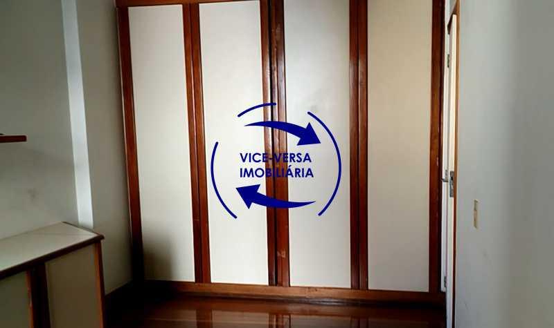 primeiro-quarto - Apartamento À venda na Tijuca - junto metrô Uruguai, salão, 4 quartos, suíte, dependências completas, 2 vagas! - Z1209 - 15