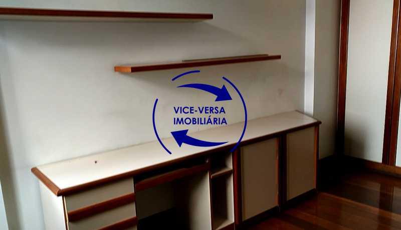 primeiro-quarto - Apartamento À venda na Tijuca - junto metrô Uruguai, salão, 4 quartos, suíte, dependências completas, 2 vagas! - Z1209 - 14
