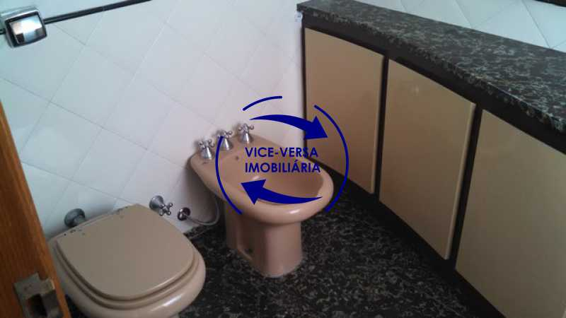 banheiro-social - Apartamento À venda na Tijuca - junto metrô Uruguai, salão, 4 quartos, suíte, dependências completas, 2 vagas! - Z1209 - 24
