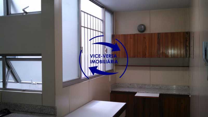 copa - Apartamento À venda na Tijuca - junto metrô Uruguai, salão, 4 quartos, suíte, dependências completas, 2 vagas! - Z1209 - 25