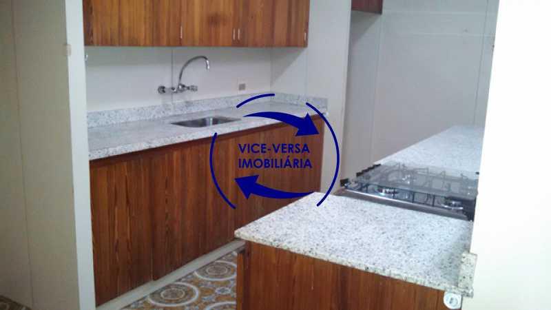 cozinha - Apartamento À venda na Tijuca - junto metrô Uruguai, salão, 4 quartos, suíte, dependências completas, 2 vagas! - Z1209 - 26