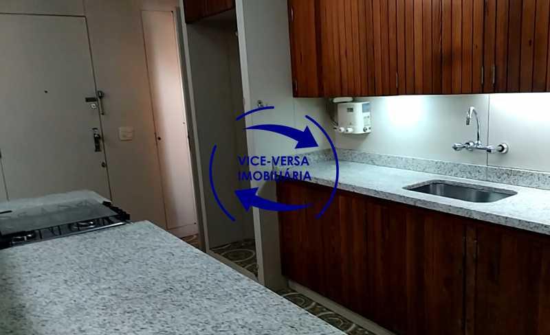 cozinha - Apartamento À venda na Tijuca - junto metrô Uruguai, salão, 4 quartos, suíte, dependências completas, 2 vagas! - Z1209 - 27