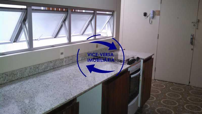 cozinha - Apartamento À venda na Tijuca - junto metrô Uruguai, salão, 4 quartos, suíte, dependências completas, 2 vagas! - Z1209 - 28