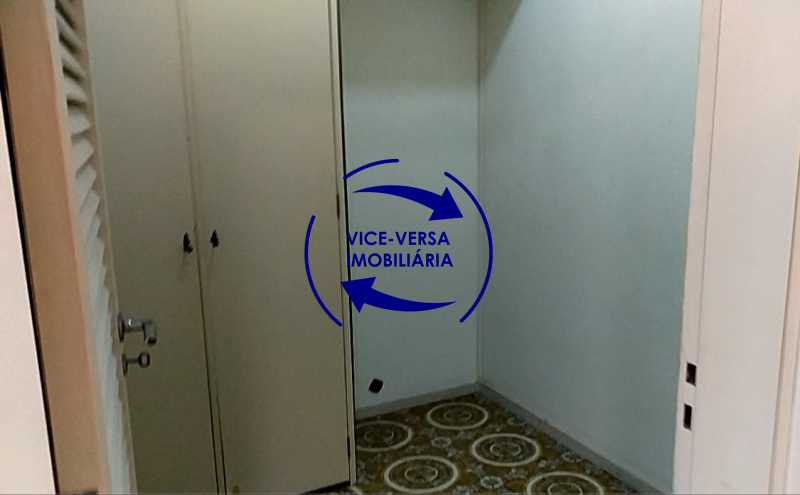 quarto-de-empregada - Apartamento À venda na Tijuca - junto metrô Uruguai, salão, 4 quartos, suíte, dependências completas, 2 vagas! - Z1209 - 30