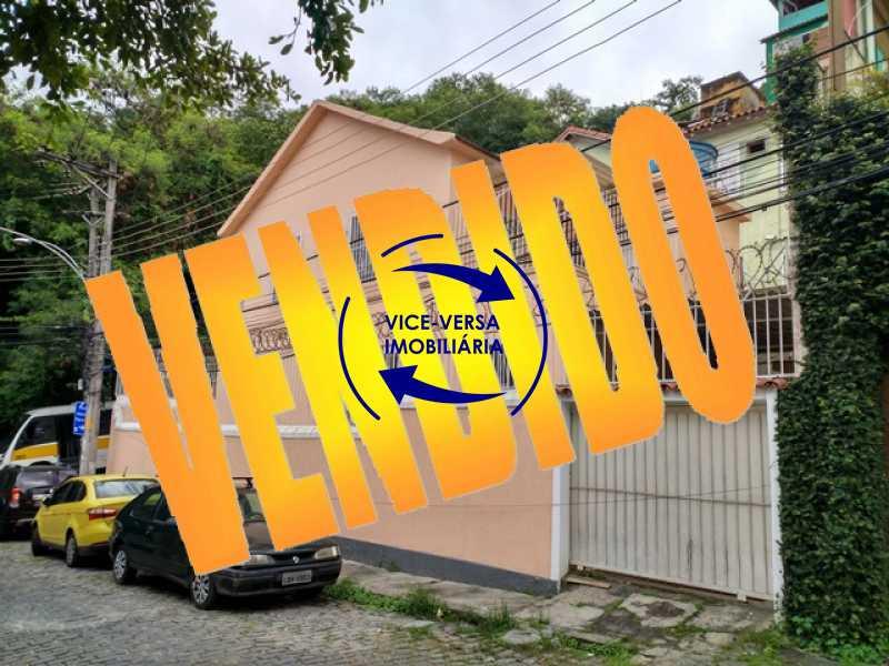 vendido - Casa duplex À venda em Vila Isabel - centro de terreno, varanda, 2 salas, 4 quartos, 2 banheiros, copa, cozinha, lavanderia, garagem! - 1274 - 1