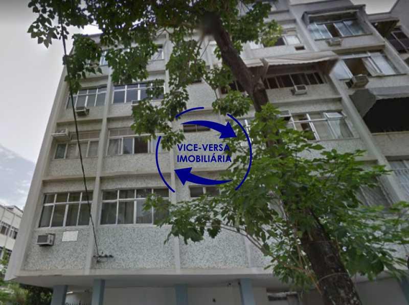 fachada - Tijuca - apartamento À venda 2 quartos vaga dependências, próximo do metrô, comércio e serviços! - 1277 - 1