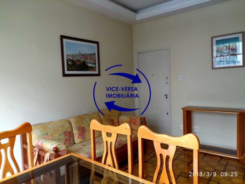 sala - Tijuca - apartamento À venda 2 quartos vaga dependências, próximo do metrô, comércio e serviços! - 1277 - 4