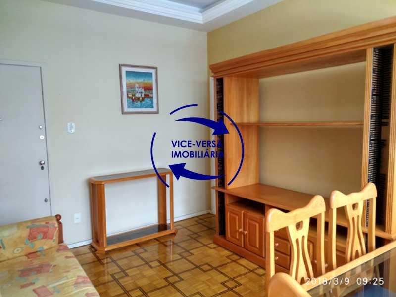 sala - Tijuca - apartamento À venda 2 quartos vaga dependências, próximo do metrô, comércio e serviços! - 1277 - 5