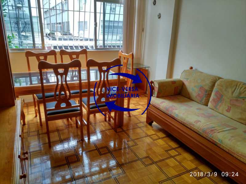 sala - Tijuca - apartamento À venda 2 quartos vaga dependências, próximo do metrô, comércio e serviços! - 1277 - 6