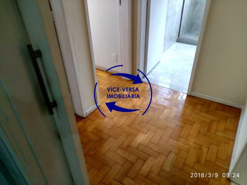 circulacao - Tijuca - apartamento À venda 2 quartos vaga dependências, próximo do metrô, comércio e serviços! - 1277 - 8