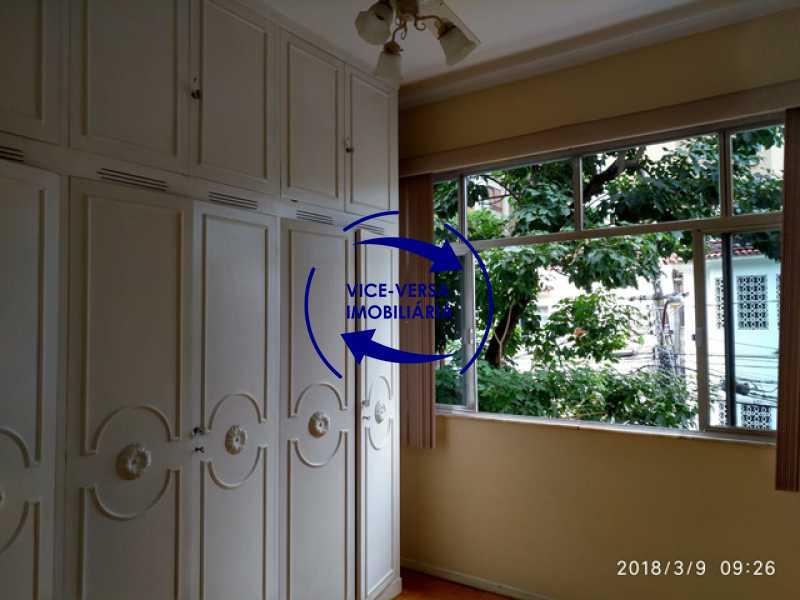 primeiro-quarto - Tijuca - apartamento À venda 2 quartos vaga dependências, próximo do metrô, comércio e serviços! - 1277 - 10