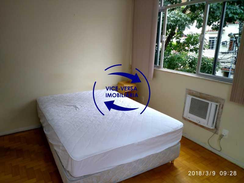 segundo-quarto - Tijuca - apartamento À venda 2 quartos vaga dependências, próximo do metrô, comércio e serviços! - 1277 - 11