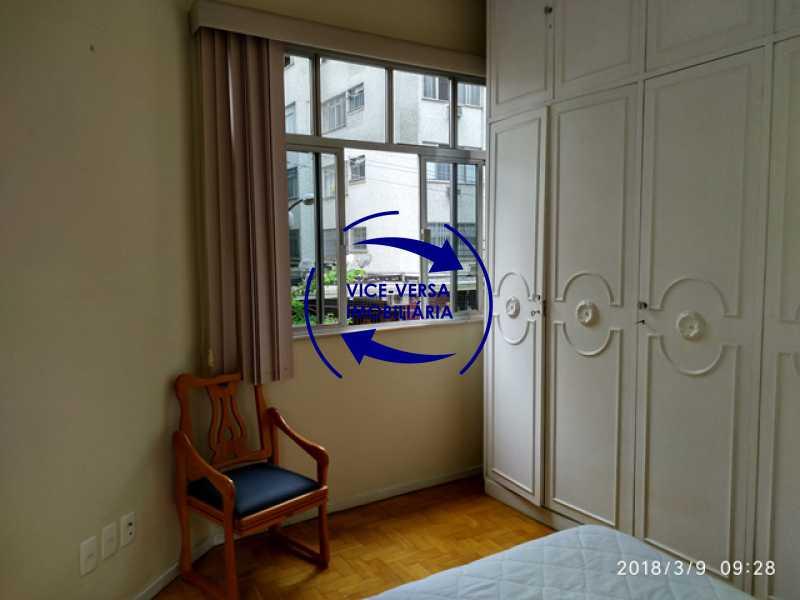 segundo-quarto - Tijuca - apartamento À venda 2 quartos vaga dependências, próximo do metrô, comércio e serviços! - 1277 - 13