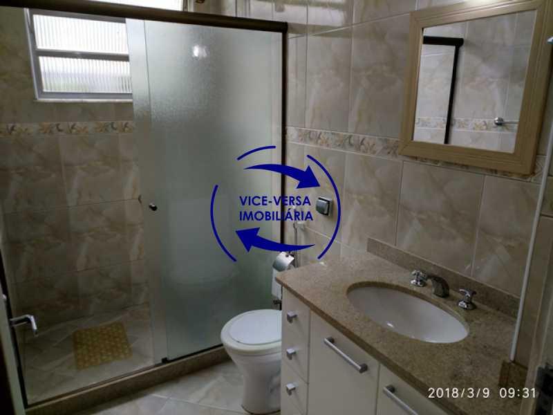 banheiro-social - Tijuca - apartamento À venda 2 quartos vaga dependências, próximo do metrô, comércio e serviços! - 1277 - 14