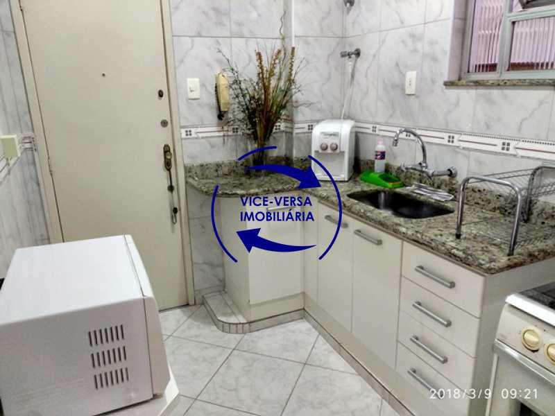 cozinha - Tijuca - apartamento À venda 2 quartos vaga dependências, próximo do metrô, comércio e serviços! - 1277 - 15