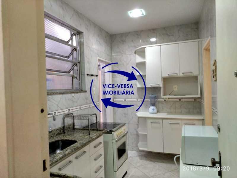 cozinha - Tijuca - apartamento À venda 2 quartos vaga dependências, próximo do metrô, comércio e serviços! - 1277 - 16