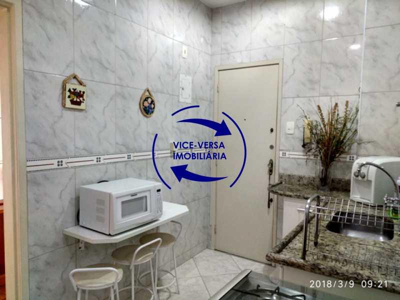 cozinha - Tijuca - apartamento À venda 2 quartos vaga dependências, próximo do metrô, comércio e serviços! - 1277 - 17