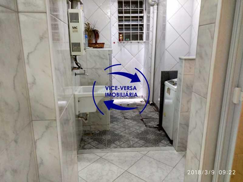 area-de-servico - Tijuca - apartamento À venda 2 quartos vaga dependências, próximo do metrô, comércio e serviços! - 1277 - 18