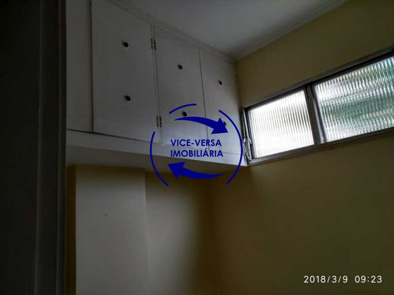 quarto-de-empregada - Tijuca - apartamento À venda 2 quartos vaga dependências, próximo do metrô, comércio e serviços! - 1277 - 19