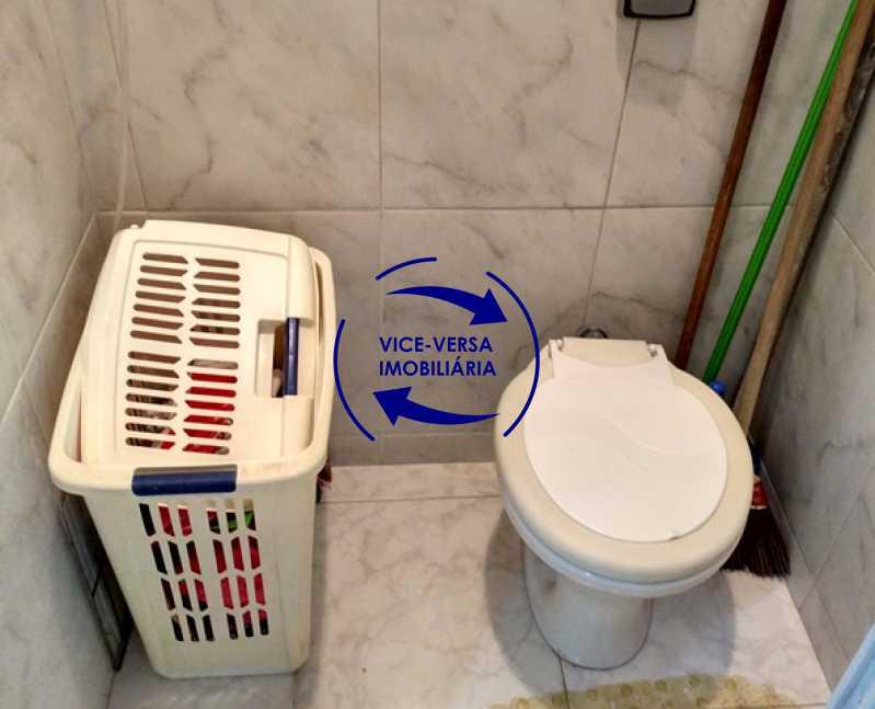 banheiro-de-empregada - Tijuca - apartamento À venda 2 quartos vaga dependências, próximo do metrô, comércio e serviços! - 1277 - 21