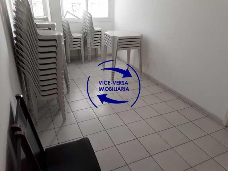 salao-de-festas - Méier - apartamento À venda, novo, 2 quartos (suíte), vaga, a 5 minutos do Assaí Atacadista Dias da Cruz! - 1284 - 9