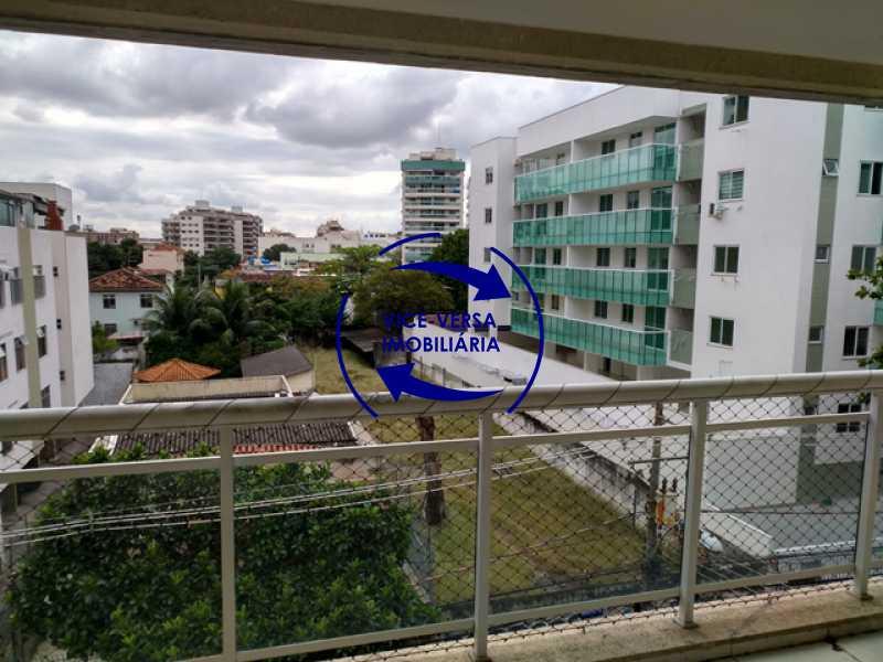 vista-da-varanda - Méier - apartamento À venda, novo, 2 quartos (suíte), vaga, a 5 minutos do Assaí Atacadista Dias da Cruz! - 1284 - 12