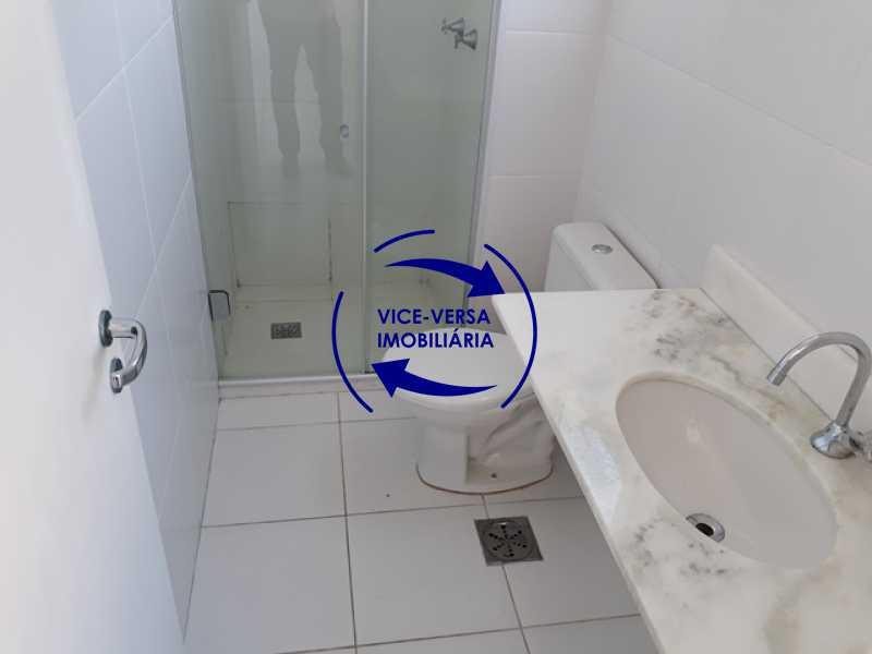 banheiro-da-suite - Méier - apartamento À venda, novo, 2 quartos (suíte), vaga, a 5 minutos do Assaí Atacadista Dias da Cruz! - 1284 - 17