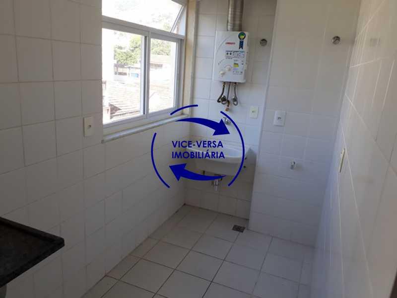 cozinha-area-de-servico - Méier - apartamento À venda, novo, 2 quartos (suíte), vaga, a 5 minutos do Assaí Atacadista Dias da Cruz! - 1284 - 21