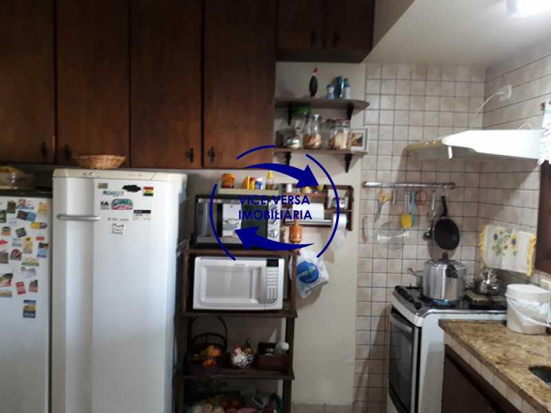 cozinha - Casa À venda na Freguesia - Suíça Carioca II, rua Luís Severiano Ribeiro! Estilo colonial, lavabo, 2 suítes, armários, closet, varanda, lavanderia,espaço gourmet! - 1288 - 8