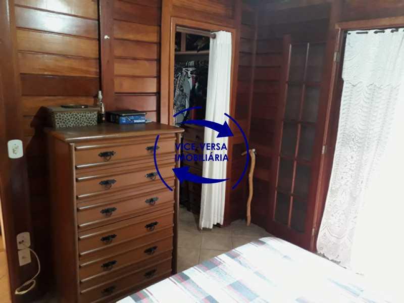 primeira-suite - Casa À venda na Freguesia - Suíça Carioca II, rua Luís Severiano Ribeiro! Estilo colonial, lavabo, 2 suítes, armários, closet, varanda, lavanderia,espaço gourmet! - 1288 - 14