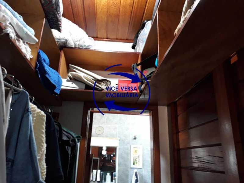 segunda-suite-closet - Casa À venda na Freguesia - Suíça Carioca II, rua Luís Severiano Ribeiro! Estilo colonial, lavabo, 2 suítes, armários, closet, varanda, lavanderia,espaço gourmet! - 1288 - 19